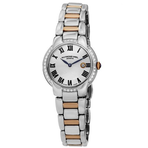 RAYMOND WEIL Jasmine Gold & Diamond Ladies Watch 5229-S5S-00659